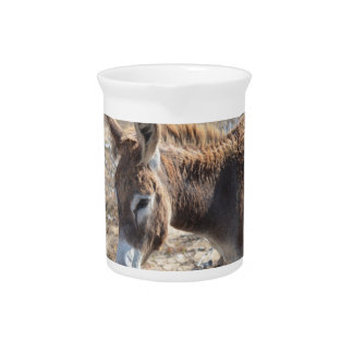 Adorable Donkey Drink Pitcher