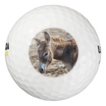 Adorable Donkey Golf Balls