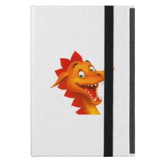 Adorable Dragon Face With Green Eyes iPad Mini Cover