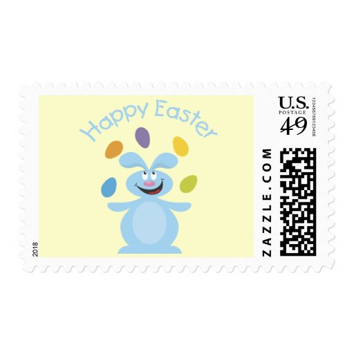 Adorable Easter Bunny Tees and Gifts Stamp