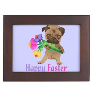 Adorable Easter Pug Gifts and Tees - Personalize Memory Box