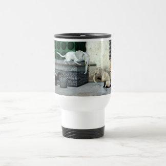 Adorable Elephant Cats Travel Mug