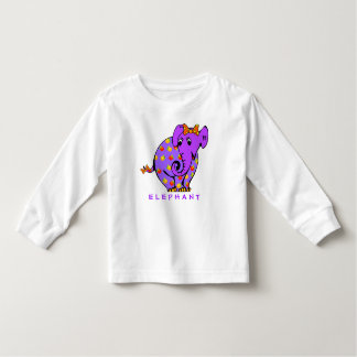 Adorable ELEPHANT Colorful Toddler T-shirt