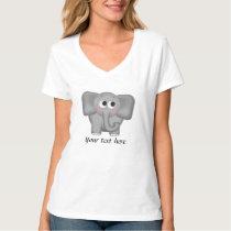 Adorable Elephant - Personalized T-Shirt