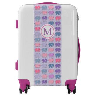 Adorable Elephants Luggage