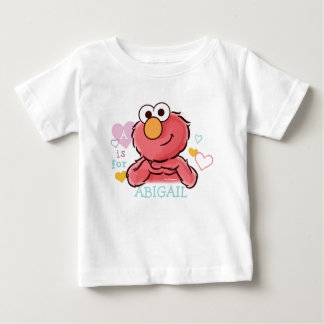 Adorable Elmo | Add Your Own Name Baby T-Shirt