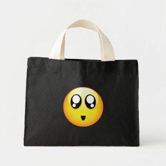 Adorable Emoticons Mini Tote Bag