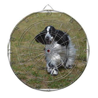 Adorable English Cocker Spaniel Dart Board