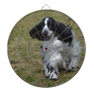 Adorable English Cocker Spaniel Dartboard