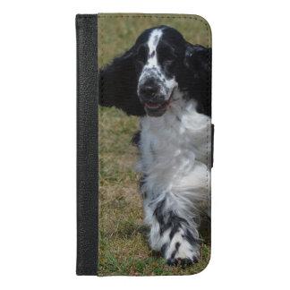 Adorable English Cocker Spaniel iPhone 6/6s Plus Wallet Case