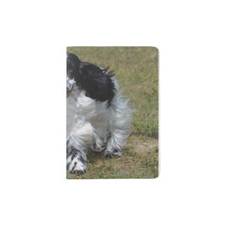 Adorable English Cocker Spaniel Passport Holder