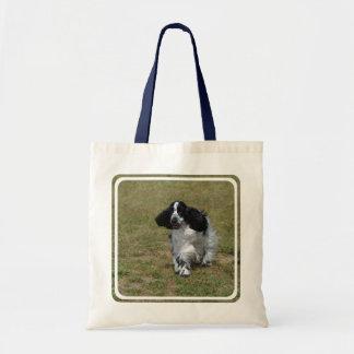 Adorable English Cocker Spaniel Tote Bag