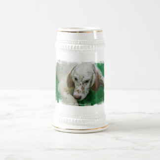 Adorable English Setter Beer Stein Coffee Mugs