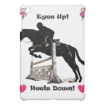 Adorable Eyes Up! Heels Down! Horse iPad Speck Cas iPad Mini Covers