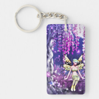 Adorable fairy keychain