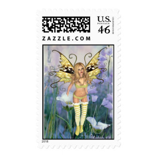 Adorable Fairy Postage by Kimberly3D