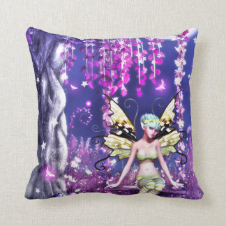 Adorable Fairy Throw Pillow