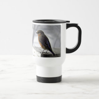 Adorable Female Bluebird Travel Mug