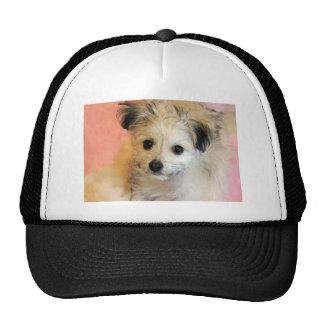 Adorable Floppy Ear Rescue Puppy Trucker Hat
