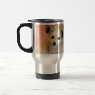 Adorable Floppy Ear Rescue Puppy Mug