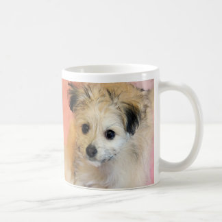 Adorable Floppy Ear Rescue Puppy Mugs