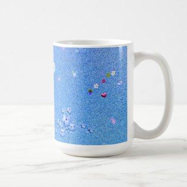 adorable Floral V01 aqua Coffee Mug