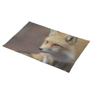 Adorable Fox Cloth Placemat