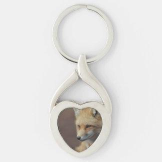 Adorable Fox Keychain