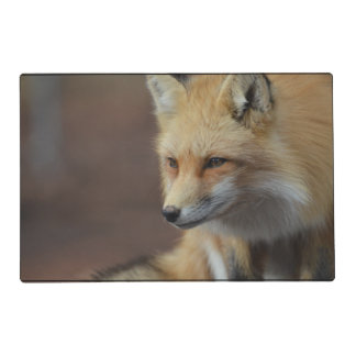 Adorable Fox Laminated Placemat