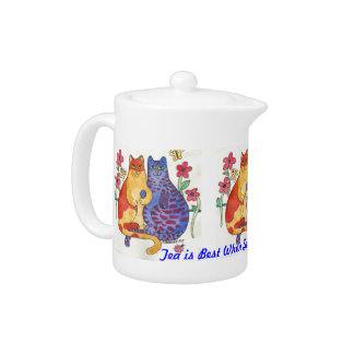 Adorable Friendship Kitty Teapot