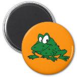 Adorable frog magnet