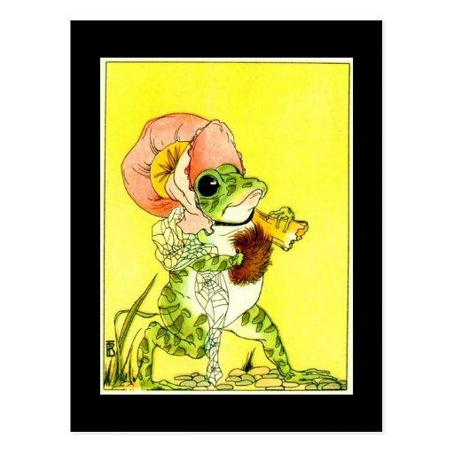 Adorable Frog Postcard