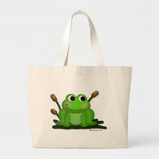 Adorable Froggy Tote Bag