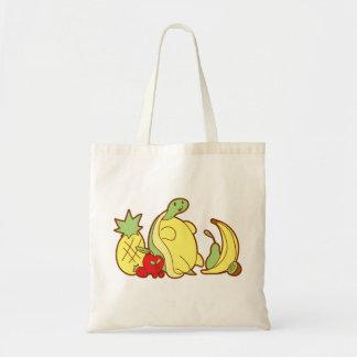 Adorable Fruit Turtle Canvas Bag