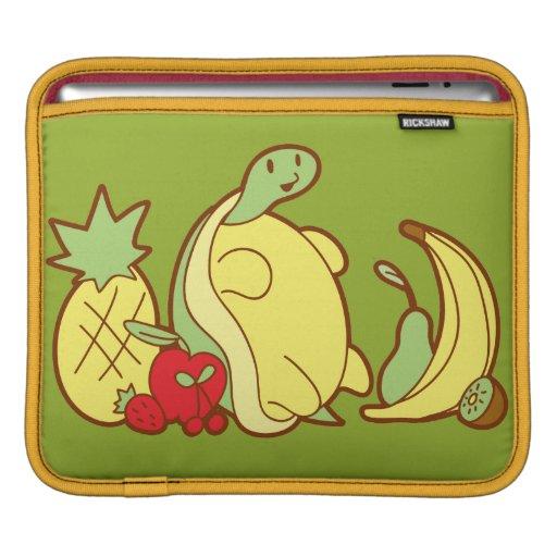 Adorable Fruit Turtle iPad Sleeves