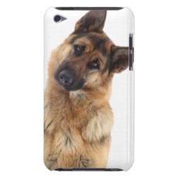 Case-Mate iPod Touch Barely There Case with German Shepherd Phone Cases design