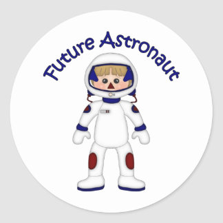 Adorable Future Astronaut Tees and Gifts Stickers