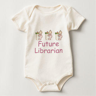 Adorable Future Librarian Baby Tee