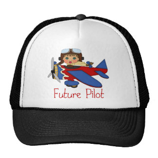 Adorable Future Pilot, Helicopter Pilot  - GIRLS Hat