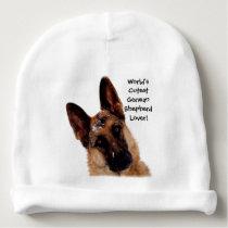 Adorable German Shepherd Baby Beanie