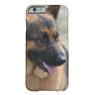 Adorable German Shepherd Barely There iPhone 6 Case