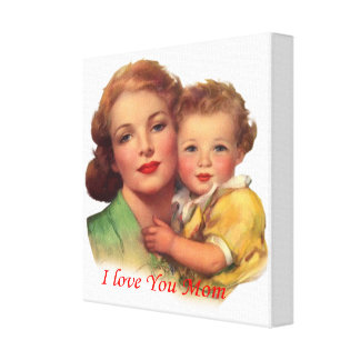 Adorable Gift for Mother's Day Canvas Print