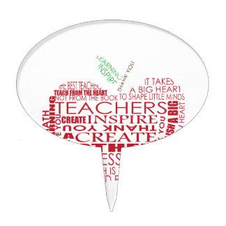 Adorable Gift for Teachers Cake Topper