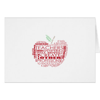 Adorable Gift for Teachers Cards