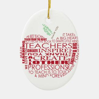 Adorable Gift for Teachers Christmas Ornaments