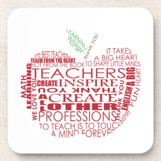 Adorable Gift for Teachers Drink Coaster