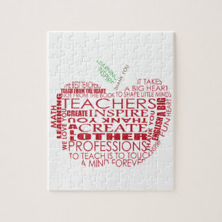 Adorable Gift for Teachers Jigsaw Puzzle