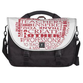 Adorable Gift for Teachers Laptop Messenger Bag