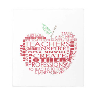 Adorable Gift for Teachers Memo Pads