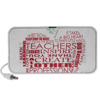 Adorable Gift for Teachers Notebook Speaker